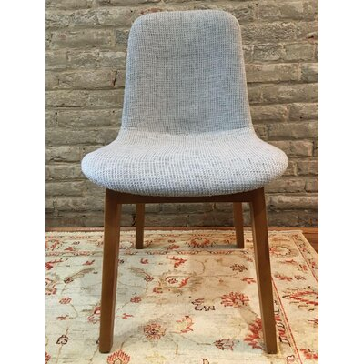 Dionne Mid Century Upholstered Dining Chair Upholstery Color: Gray