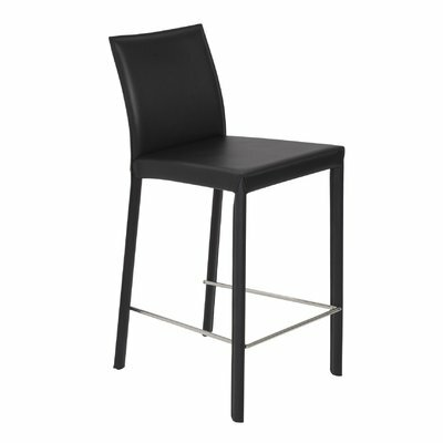 Villeda 30 Bar Stool Color: Black