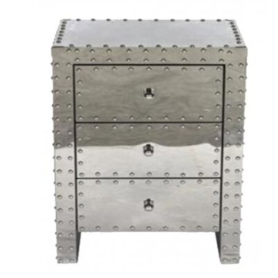 Ankara 3 Drawer Nightstand