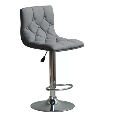 Isaacs Adjustable Height Swivel Bar Stool