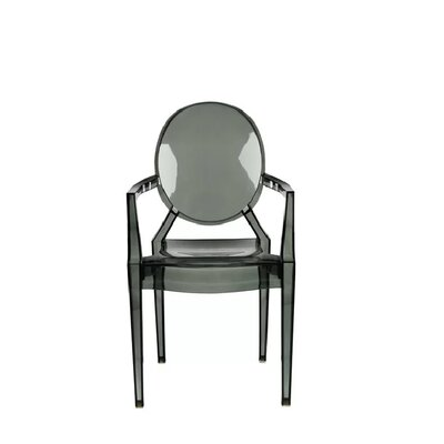 Kyra Dining Chair Color: Smoke