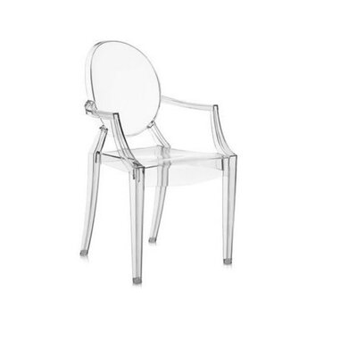 Kyra Dining Chair Color: Clear