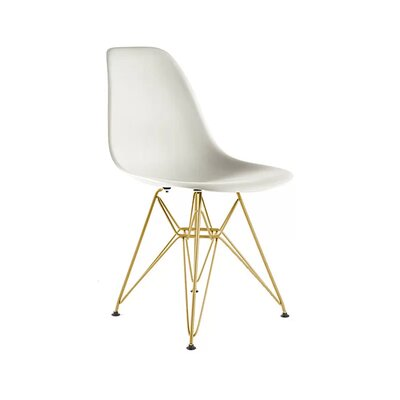 Keiko Dining Chair Color: White