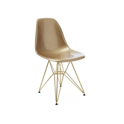 Keiko Dining Chair Color: Gold