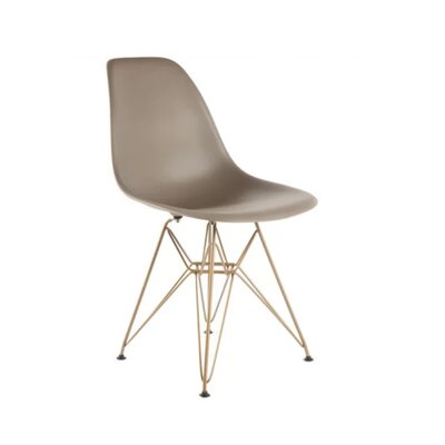 Keiko Dining Chair Color: Taupe