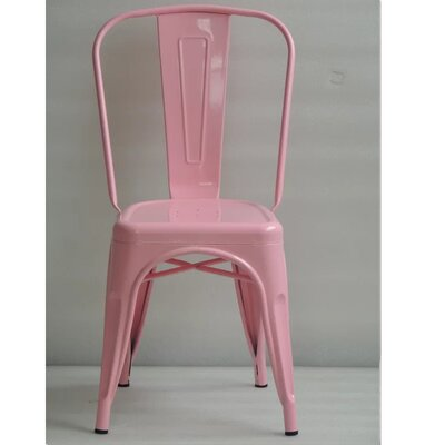 Mckeever Dining Chair Color: Pink
