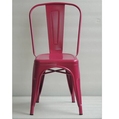 Mckeever Dining Chair Color: Plum