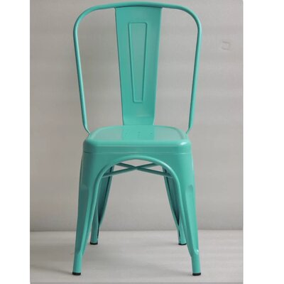 Mckeever Dining Chair Color: Green