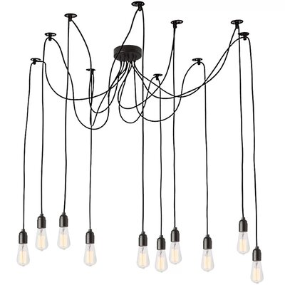 Couture 10-Light Cluster Pendant