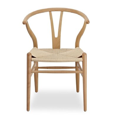 Burmeister Solid Wood Dining Chair Frame Color: Natural