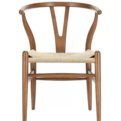 Burmeister Solid Wood Dining Chair Frame Color: Walnut