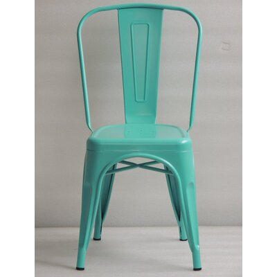 Ferraro Dining Chair Color: Turqouise