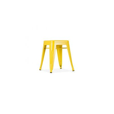 Ferraro Mini Metal 17 Bar Stool Color: Yellow