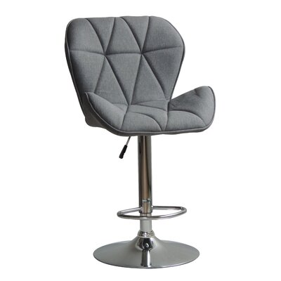 Garett Adjustable Height Swivel Bar Stool