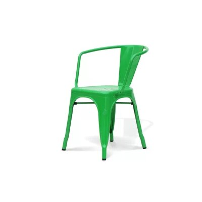 Coutu Dining Chair Color: Green