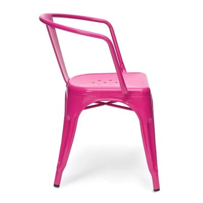 Coutu Dining Chair Color: Pink