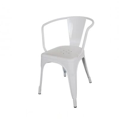 Coutu Dining Chair Color: White