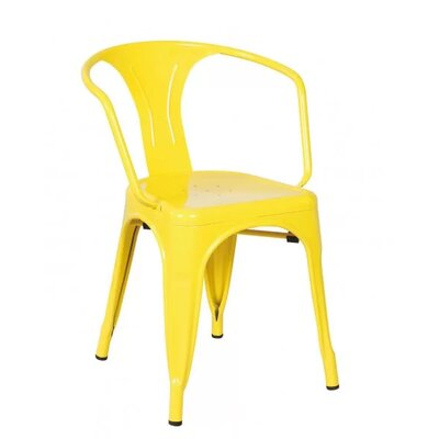 Coutu Dining Chair Color: Yellow