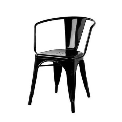 Coutu Dining Chair Color: Black