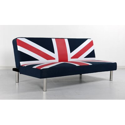 UNIO-SOFY0113 PMO1190 Primo International Union Jack Studio Convertible Sofa