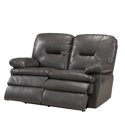 RODI-RLVY1026 PMO1178 Primo International Rodin Leather Reclining Loveseat
