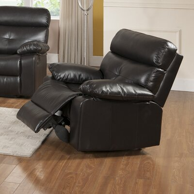 Roquette Leather Rocker Recliner