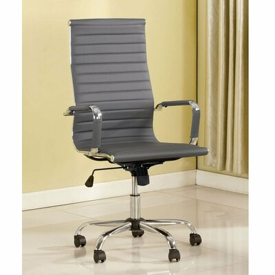Pratt Modern Executive Chair Color (Upholstery): Gray
