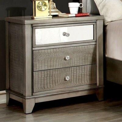 Celyn 3 Drawer Nightstand
