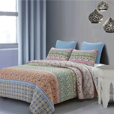 Karson Reversible Quilt Set Size: Full/Queen