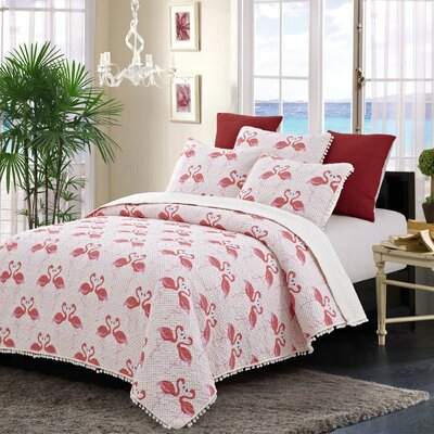 Fenner Reversible Quilt Set Size: King