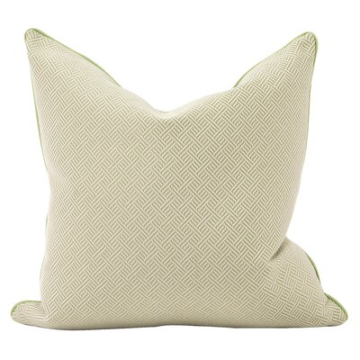 Beach Club Down Insert Throw Pillow Color: Palm, Size: 24 x 24