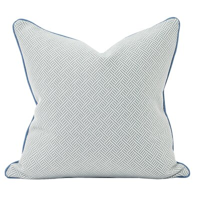 Beach Club Down Insert Throw Pillow Color: Ocean, Size: 20 x 20