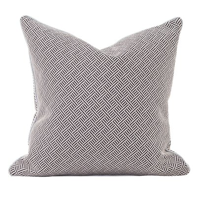 Beach Club Throw Pillow Color: Indigo, Size: 24 x 24
