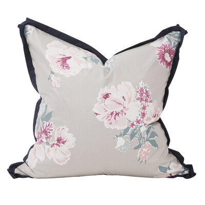 Isleboro Eve Throw Pillow Color: Indigo, Size: 20 x 20