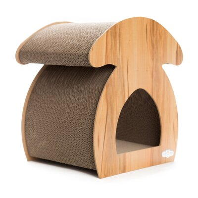 Mosby Ash Mushroom Cat Scratching Board Color: Nature
