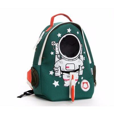 Premium Cat Smile Face Astronaut Pet Carrier Color: Green