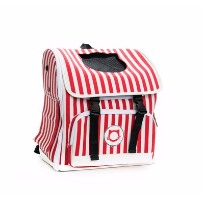 Premium Cat Carrier Color: Red