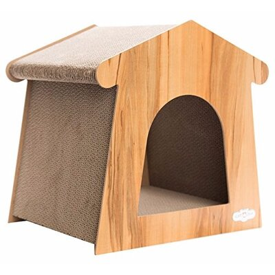 16 Cat Scratchers and Scratching Post Color: Light Brown