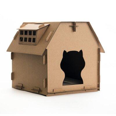 """21.2"""" Cardboard Cat Perch Size: 21"""" H x 18"""" W x 21.2"""" D H-003"""