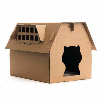 21.2 Cardboard Cat Perch Size: 22 H x 17 W x 17.3 D