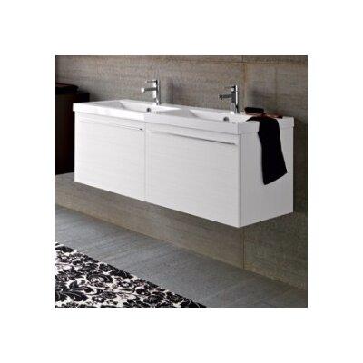 Harber 121 Double Bathroom Vanity Set with Mirror