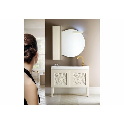 Grullon Modern High End 51 Single Bathroom Vanity with Mirror