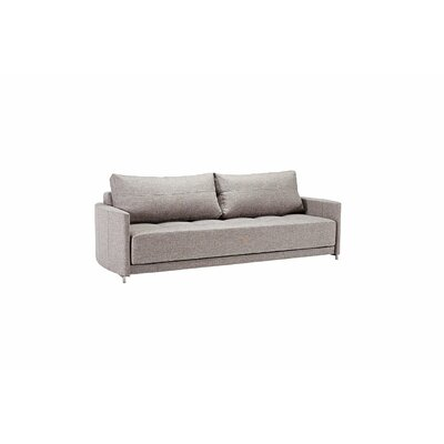 Crescent Deluxe Excess Sleeper Sofa Upholstery: Mixed Dance Grey