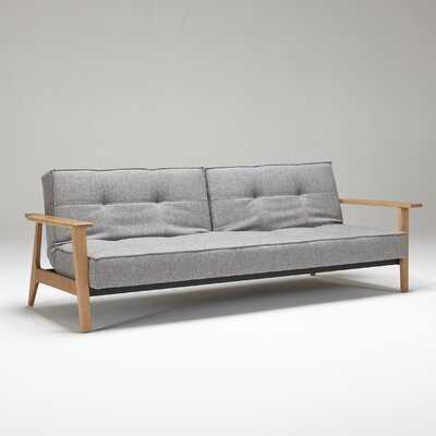 Home Split back Sofa Upholstery: MD Grey