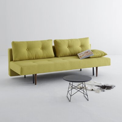 Home Recast Convertible Sofa Upholstery: Soft Mustard Flower