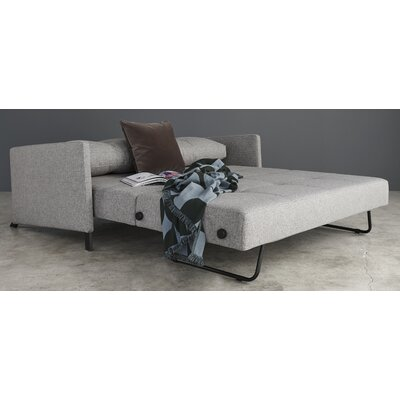 Innovation HOME Convertible Sofa Finish: Mixed Dance Gray, Size: Full