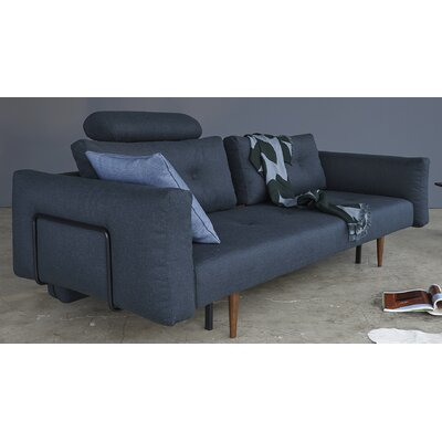 Convertible Sofa Finish: Nist Blue