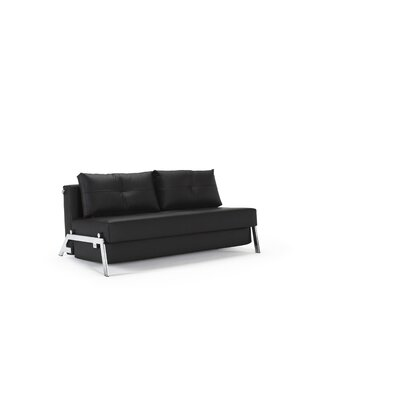 Home Cubed Deluxe Sofa Upholstery: LL Black