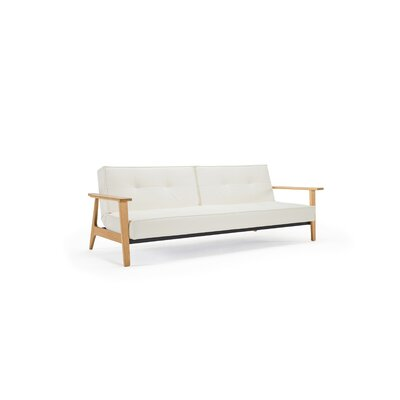 Home Split back Sofa Upholstery: LL White
