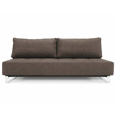 Supremax Deluxe Excess Sleeper Sofa Upholstery: Dark Brown